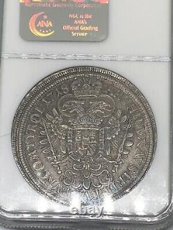 1718 Austria Thaler Tal TALER HALL NGC MS 62 Silver World Coin RARE