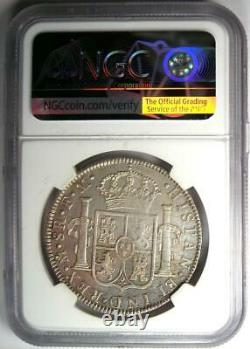 1790-MO FM Mexico Charles III 8 Reales Coin 8R Certified NGC AU Details