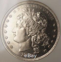 1878 Proof Silver $1 Goloid Metric Dollar Pattern Coin J-1564 NGC PF-61 WW