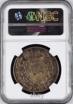1924 Liechtenstein 5 Franken Silver John Johann II NGC AU58 remain. 3,740 coins