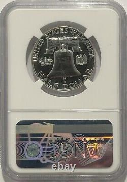 1963 P NGC PF69 SILVER PROOF BEN FRANKLIN HALF DOLLAR 50c 90% SILVER WHITE COINS