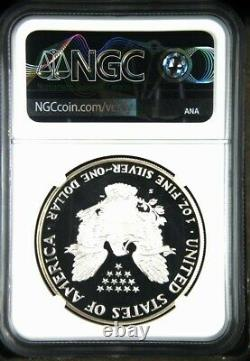 1986 S Proof Silver Eagle Ngc Pf 69 Ultra Cameo