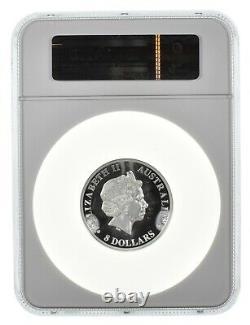 2013 5 oz Australia Koala High Relief PF69 Ultra Cameo NGC. 999 Silver
