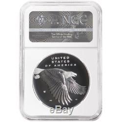 2017 225th Ann. American Liberty Silver Medal 1oz 4pc. Set NGC 70 Flag ER Label