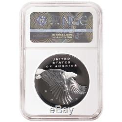 2017 225th Ann. American Liberty Silver Medal 1oz 4pc. Set NGC 70 Rhett Jeppson