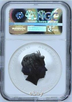 2017 P Australia Silver Lunar Year of the Rooster NGC MS 70 1 oz Coin ER Perfect