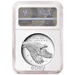 2017-S Proof 225th Ann. American Liberty Silver Medal 1oz NGC PF70UC 225th ER La