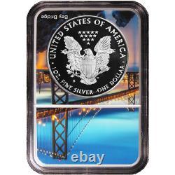 2018-S Proof $1 American Silver Eagle NGC PF69UC ER San Francisco Core
