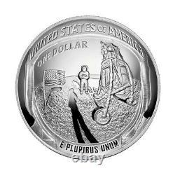 2019 P Apollo 11 Commemorative 5 oz Proof Silver $1 NGC PF70 UCAM Early Releases