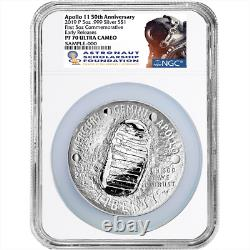 2019-P Proof $1 Apollo 11 50th Ann 5oz. Silver Dollar NGC PF70UC ASF ER Label