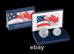 2019 Pride of Two Nations Limited Edition Two-Coin Set 100,00 mintage