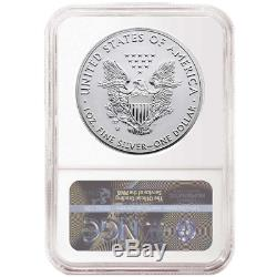 2019-W Reverse Proof $1 American Silver Eagle NGC PF70 ER Flags Label Pride of T