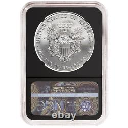 2020 (S) $1 American Silver Eagle NGC MS70 Emergency Production ALS ER Label Ret