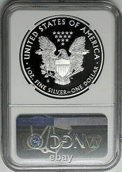 2020 S $1 Proof Silver Eagle NGC PF69 Ultra Cameo Early Releaes