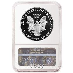 2020-S Proof $1 American Silver Eagle NGC PF69UC Brown Label