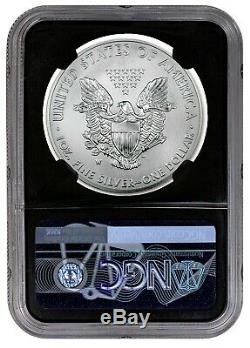 2020 W $1 burnished silver eagle NGC MS70 john Mercanti LAST YEAR OF ISSUE