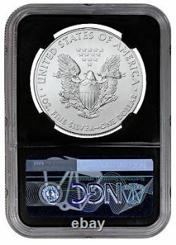 2021 (P) Silver Eagle Struck Philadelphia Emergency T-1 NGC MS70 FR Black Core