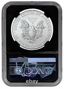 2021(P) Silver Eagle Struck Philadelphia Emergency Type 1 NGC MS69 FR Black Core
