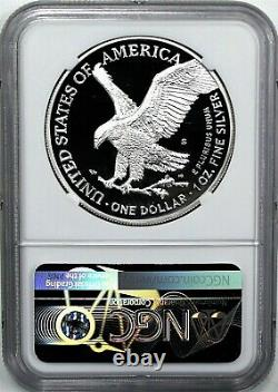 2021 S $1 Proof Silver Eagle Type 2 NGC PF70 Ultra Cameo First Day of Issue
