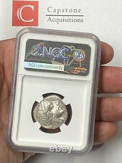 Attica Athens Owl 440-404 BC Silver Tetradrachm NGC CHAU 5x4 Stunning Greek Coin