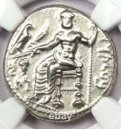 Cilicia Tarsus Mazaeus AR Silver Stater Lion Bull Coin 361-328 BC NGC AU