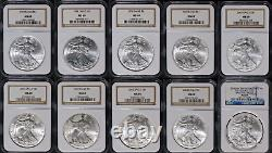 Estate Coin Lot US American Silver Eagle 1 PCGS/NGC Certified Proof Unc