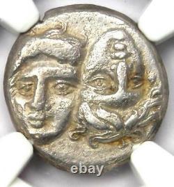 Greek Moesia Istrus AR Drachm Coin 300 BC Certified NGC Choice VF
