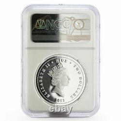 Niue set of 4 coins Star Wars, Yoda, Amidala, Anakin PF-70 NGC silver coin 2012