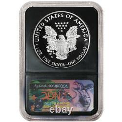 Presale 2020-S Proof $1 American Silver Eagle NGC PF70UC FDI Trump Label Retro
