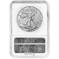 Presale 2021 $1 Type 2 American Silver Eagle NGC MS70 FDI First Label Reverse