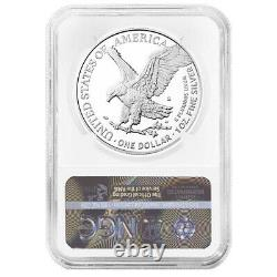 Presale 2021-S Proof $1 Type 2 American Silver Eagle NGC PF70UC Brown Label
